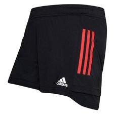 Bayern München Shorts - Svart/Röd Dam