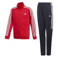 adidas Trainingsanzug Tiro - Rot/Weiß Kinder