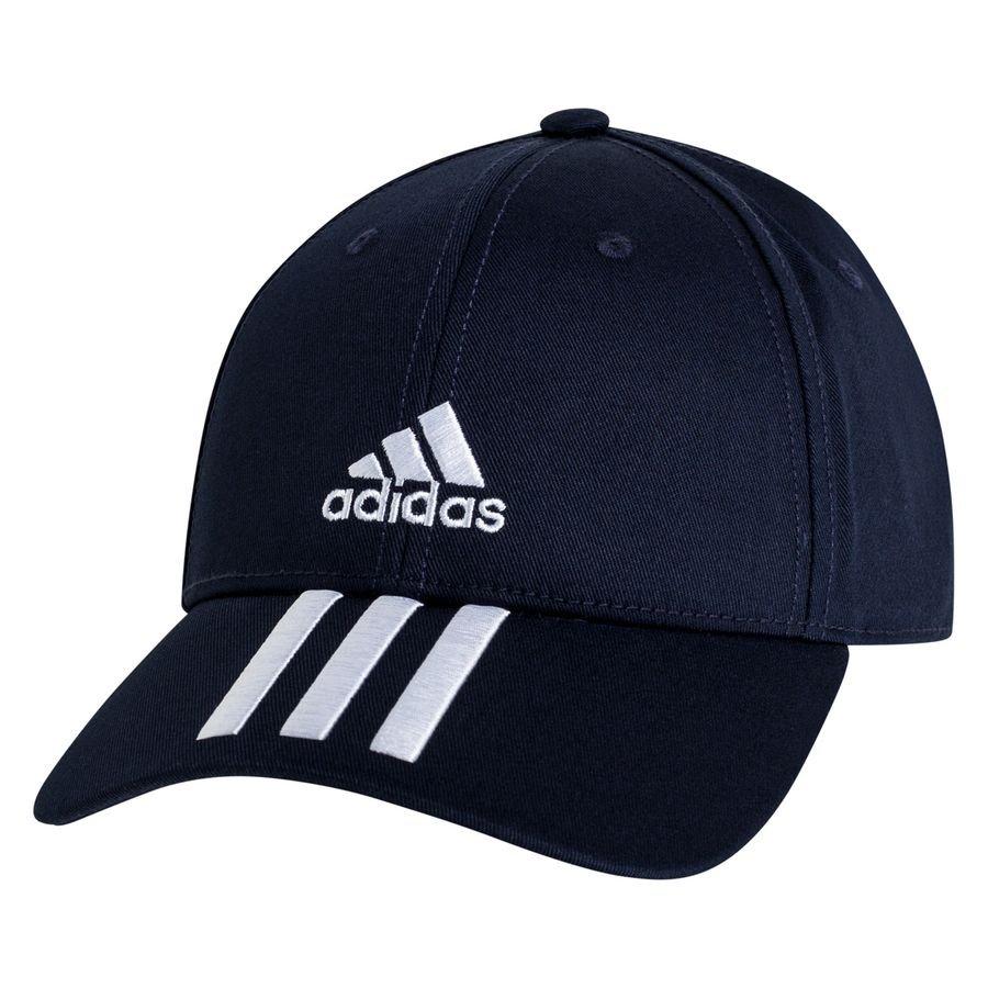 adidas Baseball Kasket 3-Stripes Twill - Navy/Hvid thumbnail