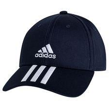 Adidas Baseball Cap 3-Stripes Twill - Navy/Wit