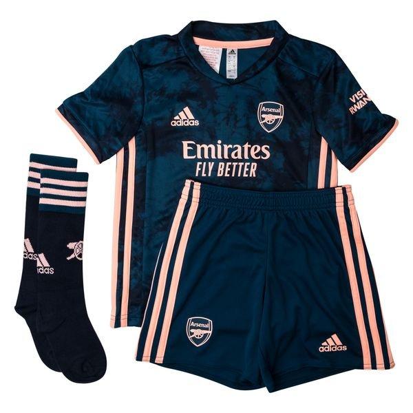 Arsenal Third Shirt 2020 21 Mini Kit Kids Www Unisportstore Com