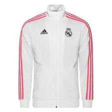 Real Madrid Track Top 3-Stripes - Vit/Navy
