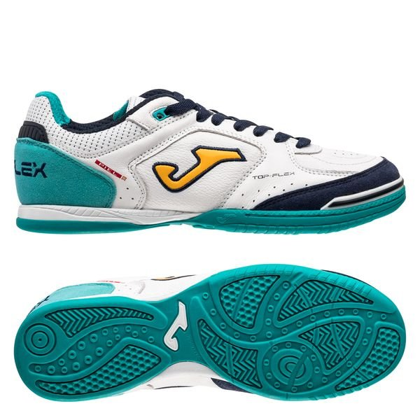 Joma Top Flex IN - White/Turquoise
