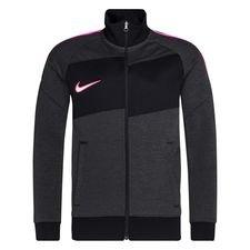 Nike Track Jacke I96 Academy - Dark Smoke Grey/Heather/Pink Kinder