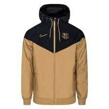 Barcelona Windrunner Woven Authentic - Jersey Gold/Schwarz