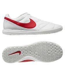 Nike Premier II Sala IC Home Crew - Hvid/Rød