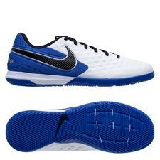 Nike Tiempo React Legend 8 Pro IC - Hvid/Sort/Blå/Sølv