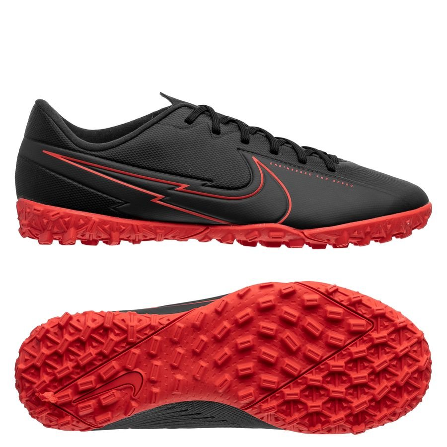 prezzo capacità Vento  Nike Mercurial Vapor 13 Academy TF Black X Chile Red - Black/Chile Red/Dark  Smoke Grey Kids | www.unisportstore.com