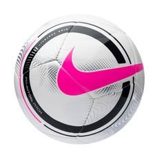 Nike Fotboll Phantom - Vit/Svart/Rosa