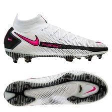 Nike Phantom GT Elite DF FG - Hvid/Pink/Sort