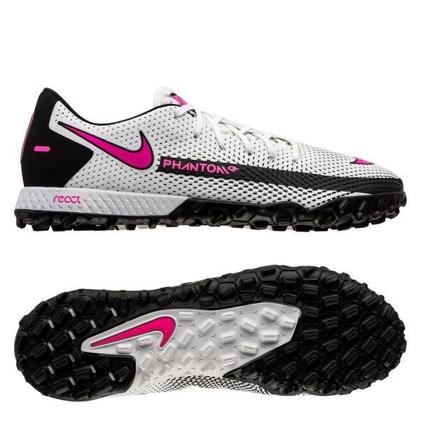 Nike Phantom GT React Pro TF Daybreak - White/Pink Blast/Black