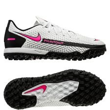 Nike Phantom GT Academy TF Daybreak - Hvid/Pink/Sort Børn