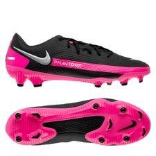 Nike Phantom GT Academy MG - Sort/Sølv/Pink