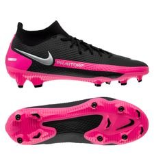 Nike Phantom GT Academy DF MG - Sort/Sølv/Pink