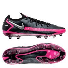 Nike Phantom GT Elite AG-PRO - Sort/Sølv/Pink