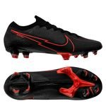 Nike Mercurial Vapor 13 Elite FG Black X Chile Red - Sort/Grå/Rød