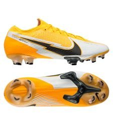 Nike Mercurial Vapor 13 Elite FG - Orange/Sort/Hvid