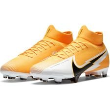 Nike Mercurial Superfly 7 Pro FG - Orange/Sort/Hvid