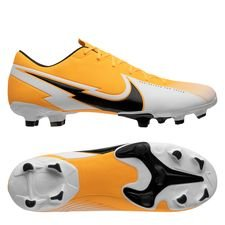 Nike Mercurial Vapor 13 Academy MG - Orange/Sort/Hvid