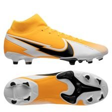 Nike Mercurial Superfly 7 Academy MG - Orange/Sort/Hvid