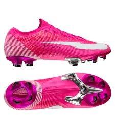 Nike Mercurial Vapor 13 Elite FG Mbappé Rosa - Pink/Hvid/Sort