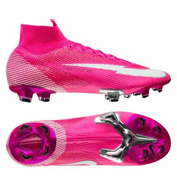 Nike Mercurial Superfly 7 Elite FG Mbappé Rosa - Pink Blast/White/Black