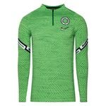 Nigeria Training Shirt Dry Strike Drill - Pine Green/Black/White