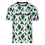 Nigeria Training T-Shirt Pre Match - Weiß/Grün/Schwarz