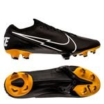 Nike Mercurial Vapor 13 Elite FG Skinn Tech Craft - Sort/Hvit/Gull