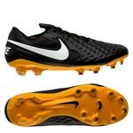 Nike Tiempo Legend 8 Elite FG Skinn Tech Craft - Sort/Hvit/Gull