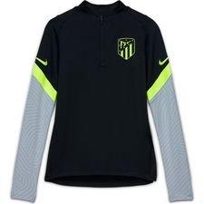 Atletico Madrid Träningströja Dry Strike Drill - Svart/Grå/Neon
