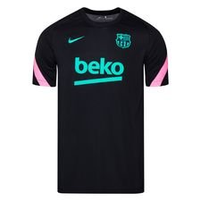 Barcelona Tränings T-Shirt Breathe Strike - Svart/Rosa/Grön