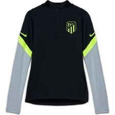 Atletico Madrid Träningströja Dry Strike Drill - Svart/Grå/Neon Barn