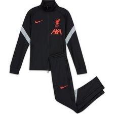 Liverpool Trainingsanzug Dry Strike - Schwarz/Grau/Pink Kinder