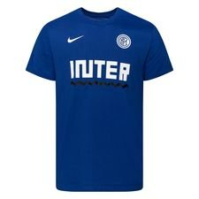 Inter T-Shirt Dry Core Match - Blå/Vit