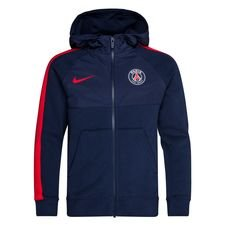 Paris Saint-Germain Sweatshirt NSW Hybrid - Navy/Röd Barn