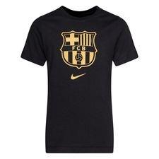 Barcelona T-Shirt Evergreen - Svart/Guld