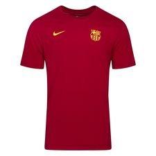 Barcelona T-Shirt Dry Core - Bordeaux