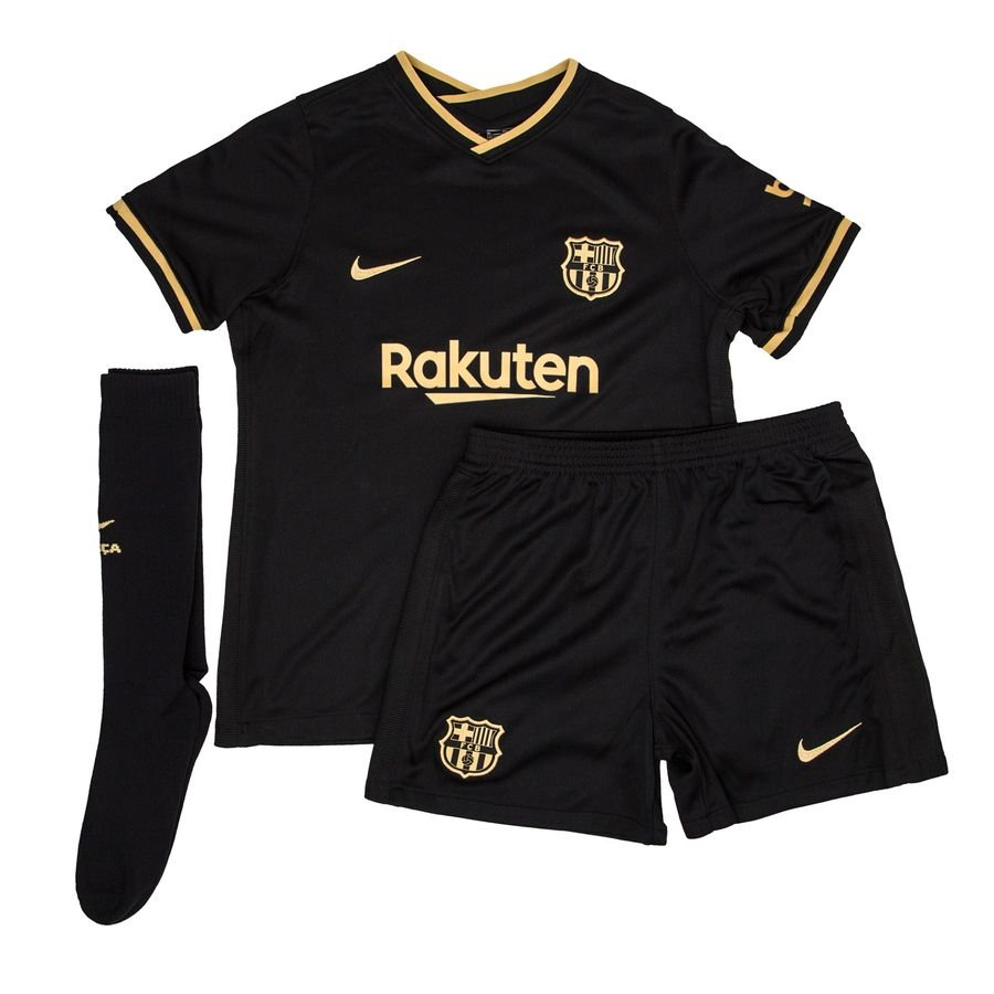 Barcelona Away Shirt 2020 21 Mini Kit Kids Www Unisportstore Com