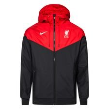 Liverpool Vindjacka Woven Authentic - Svart/Röd/Vit