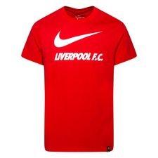 Liverpool T-Shirt Training Ground - Röd/Vit