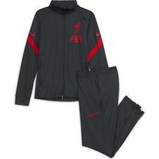 Liverpool Trainingsanzug Dry Strike - Grau/Rot Kinder