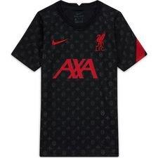 Liverpool Tränings T-Shirt Pre Match - Svart/Röd Barn