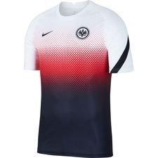 Eintracht Frankfurt Tränings T-Shirt Pre Match - Vit/Svart Barn