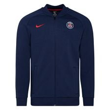 Paris Saint-Germain Track Jacka Fleece - Navy/Röd