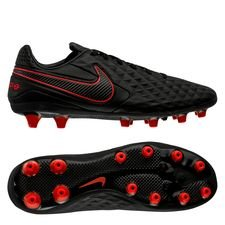 Nike Tiempo Legend 8 Pro AG-PRO Black X Chile Red - Sort/Rød/Grå