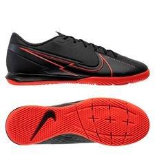 Nike Mercurial Vapor 13 Academy IC Black X Chile Red - Sort/Rød/Grå
