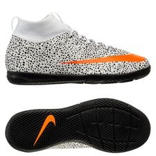 Nike Mercurial Superfly 7 Academy IC CR7 Safari - Wit/Oranje/Zwart Kinderen LIMI