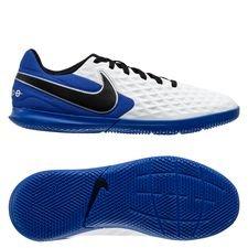 Nike Tiempo Legend 8 Club IC Daybreak - Weiß/Schwarz/Blau/Silber Kinder