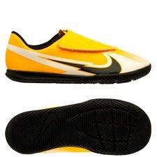 Nike Mercurial Vapor 13 Club Velcro IC Daybreak - Orange/Schwarz/Weiß Kinder